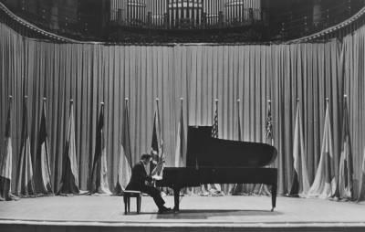 Concert inaugural del IV Concurs Maria Canals a càrrec d'Alberto Colombo guanyador de la III edició, al Palau de la Música Catalana
