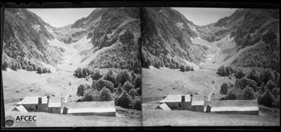 L'Hospice de France i les muntanyes