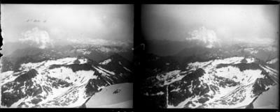 Vista de l'Aneto amb neu