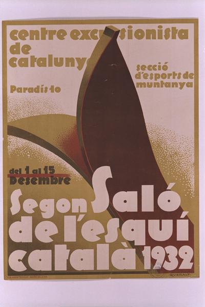 Segon Saló de l'Esquí Català, 1932