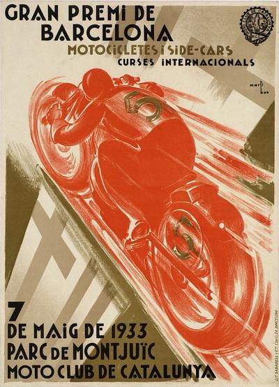 Gran Premi de Barcelona: motocicletes i side-cars, curses internacionals