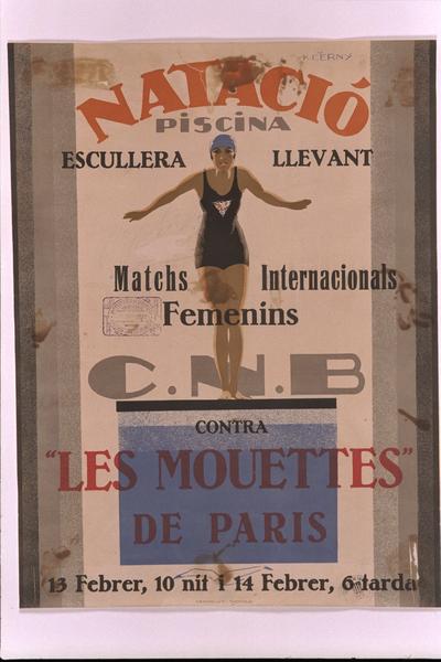 Match internacionals femenins: C.N.B. contra Les Mouettes de Paris