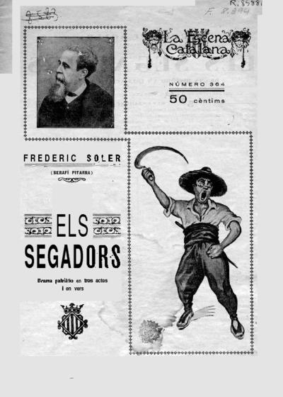 Els Segadors : drama històric en tres actes y en vers