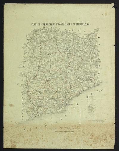 Plan de carreteras provinciales de Barcelona