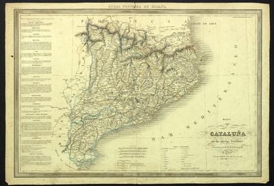 Cataluña con las nuevas divisiones