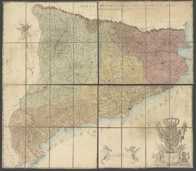 Nueva descripción geographica del Principado de Cataluña