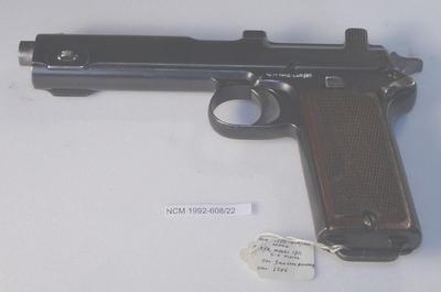 pistol: Steyr Model 1911 Semi-Automatic Pistol