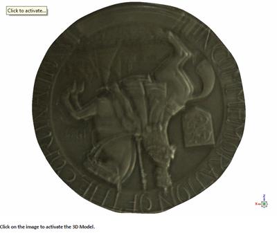 Coronation medallion