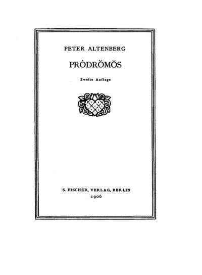 Pròdrŏmŏs