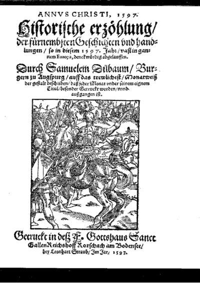 ANNVS CHRISTI, 1597