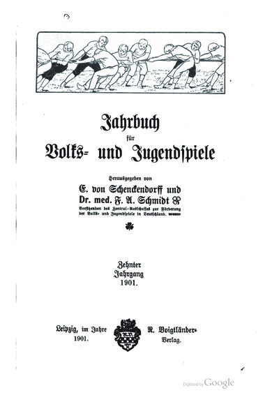 Das Fußballspiel im Jahre 1900