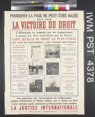 La Victoire du Droit [The Victory of Right]