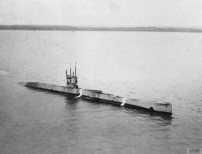 THE ROYAL NAVY SUBMARINES OF THE FIRST WORLD WAR