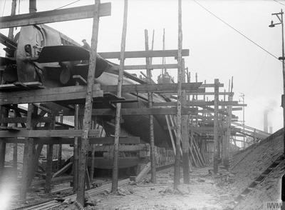SHIPBUILDING DURING THE FIRST WORLD WAR