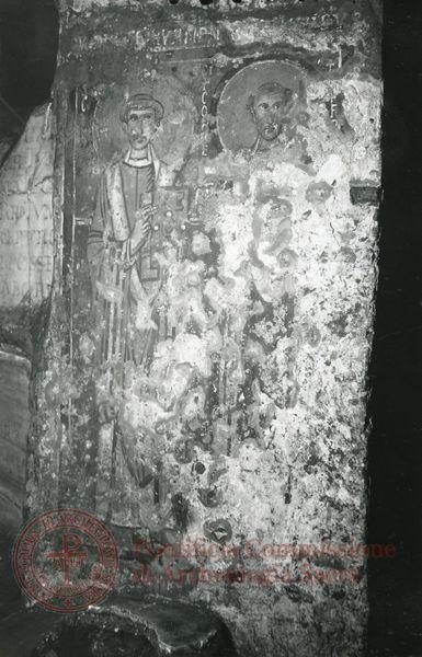 Inscription from Rome, Crypta s.Cornelii - ICVR IV, 9371.1