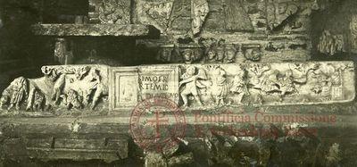 Inscription from Rome, Basilica ss. Nerei et Achillei in coem. Domitillae - ICVR III, 8193