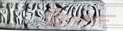 Inscription from Rome, Basilica ss. Nerei et Achillei in coem. Domitillae - ICVR III, 8304