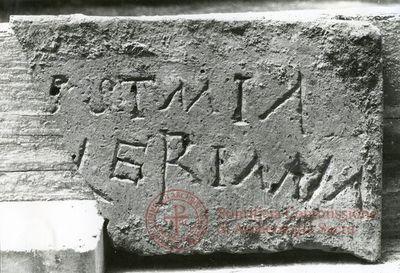 Inscription from Rome, Coem. Iordanorum - ICVR IX, 24422