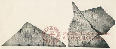 Inscription from Rome, Coem. s.Hippolyti - ICVR VII, 19937
