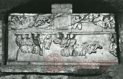 Inscription from Rome, Coem. anonymum ad viam Appiam - ICVR IV, 11946