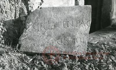 Inscription from Rome, Coem. anonymum ad viam Appiam - ICVR VI, 17363