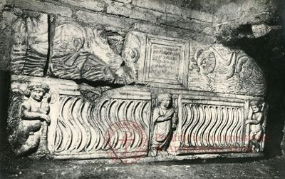 Inscription from Rome, Coem. Praetextati - ICVR V, 14274
