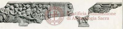 Inscription from Rome, Coem. Praetextati - ICVR V, 13974