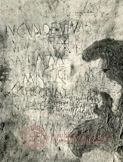 Inscription from Rome, Coem. Priscillae - ICVR IX, 24853.14