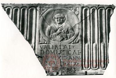 Inscription from Rome, Coem. Priscillae - ICVR IX, 25571