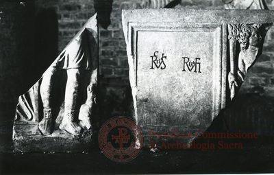 Inscription from Rome, Coem. Priscillae - ICVR IX, 25791