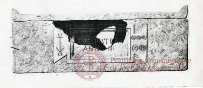 Inscription from Rome, Coem. Priscillae - ICVR IX, 25720