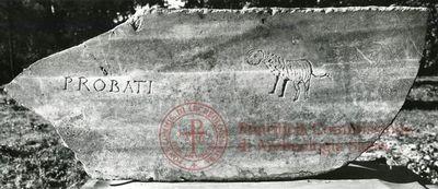 Inscription from Rome, Coem. Priscillae - ICVR IX, 25458