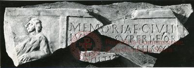 Inscription from Rome, Coem. Priscillae - ICVR IX, 25302