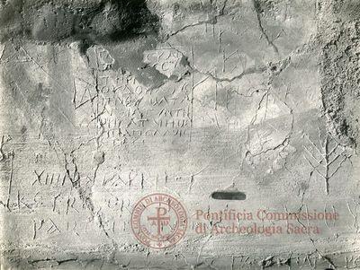Inscription from Rome, Memoria Apostolorum ad Catacumbas - ICVR V, 13079