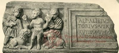 Inscription from Rome, Coem. subdiale ad Catacumbas - ICVR V, 13446