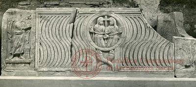Inscription from Rome, Coem. subdiale ad Catacumbas - ICVR V, 13360