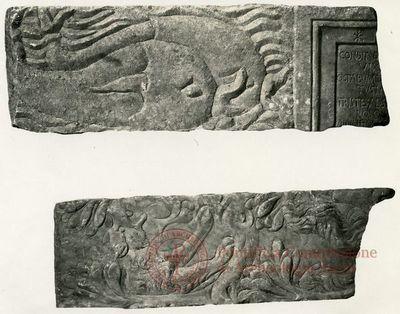 Inscription from Rome, Coem. subdiale ad Catacumbas - ICVR V, 13812