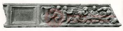 Inscription from Rome, Coem. subdiale ad Catacumbas - ICVR V, 13649