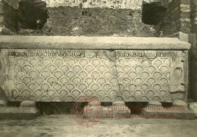 Inscription from Rome, Coem. subterraneum ad Catacumbas - ICVR V, 13109