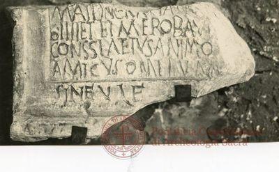 Inscription from Rome - ICVR V, 13338
