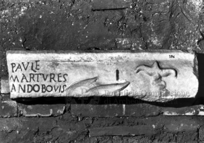 Inscription from Rome, Coem. subdiale ad Catacumbas - ICVR V, 13600