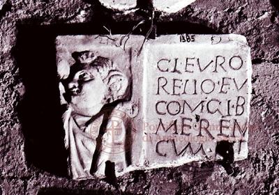 Inscription from Rome, Coem. subdiale ad Catacumbas - ICVR V, 13469