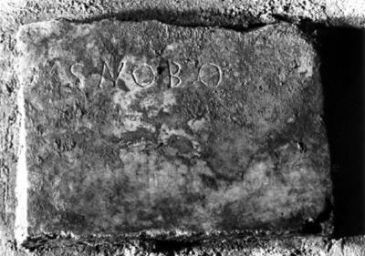 Inscription from Rome, Coem. subterraneum ad Catacumbas - ICVR V, 13252.a