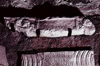 Inscription from Rome, Coem. subdiale ad Catacumbas - ICVR V, 13507