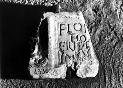 Inscription from Rome, Coem. subdiale ad Catacumbas - ICVR V, 13537
