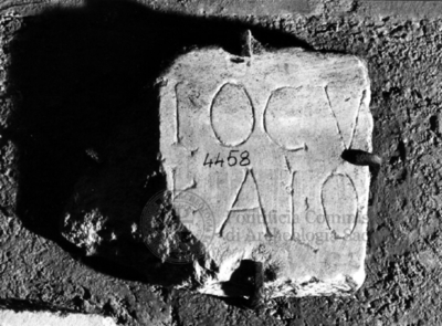 Inscription from Rome, Coem. subdiale ad Catacumbas - ICVR V, 13701.b