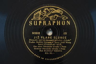 Již plane slunce : Přemyskův zpěv ze slavnostni zpěvohry