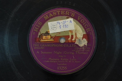 A summer night / (Goring Thomas)