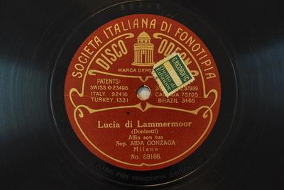 Lucia di Lammermoor : Alfin son tua / (Donizetti)