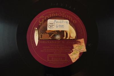 Granada : canción española / (F. M. Alvarez)